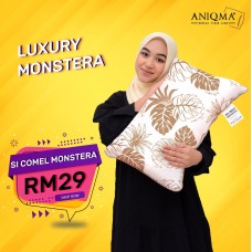 Bantal SiComel Monstera